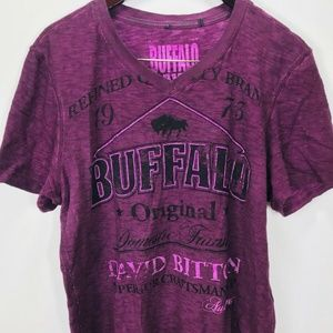Buffalo David Bitton Bottom T- Shirt Mens Sz L